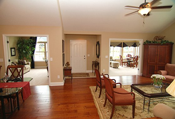 Open, Spacious Floorplans