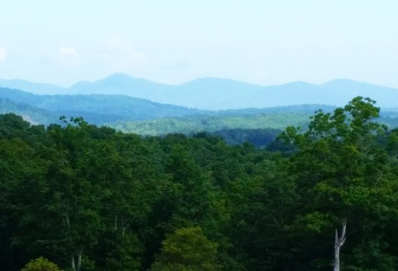 Mountain Views in South Asheville
